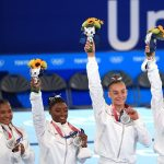 Team USA Rallies to Win Gymnastics Silver After Simone Biles Withdraws From Competition